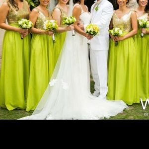Bridesmaids Dress with  pockets